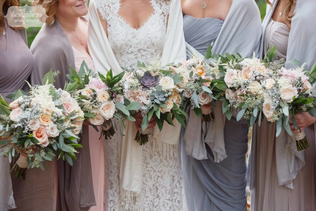 An introduction to the wonderful world of wedding floral design at Petals and Leaves
