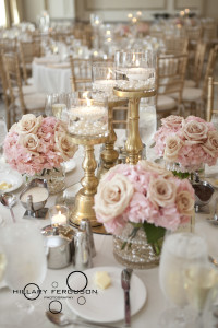 A blush and gold summer wedding at The Westin Columbus